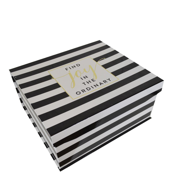 Organizing Essentials™ Large Flip Top Box Joy