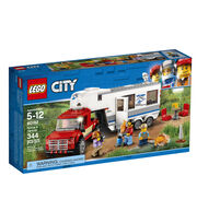 LEGO City Pickup & Caravan 60182, , hi-res