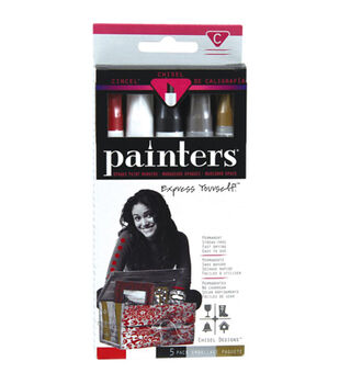 Elmer's Painters Chisel Designs 5 pk Paint Markers