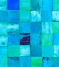 Anti-Pill Fleece Fabric 59\u0022-Teal Tile