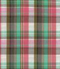 Shirting Fabric 57\u0022-Watermelon Plaid