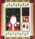 Christmas Cotton Fabric-Lodge Holiday Panel