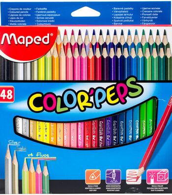 Color'Peps Triangular Colored Pencils-Assorted