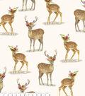 Fleece No Sew Throw 72\u0022-Boho Deer