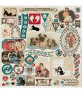 Companions Cardstock Stickers 12\u0022X12\u0022-Details