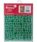 Stamperia Stencil D 7.87\u0027\u0027x5.91\u0027\u0027-Wall Effect