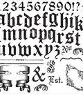 Iron Orchid Designs Decor Clear Stamps 12\u0022X12\u0022-Alpha II