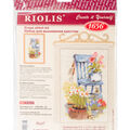 RIOLIS Create it Yourself Counted Cross Stitch Kit-Cottage Garden
