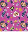 Paw Patrol Fleece Fabric 61\u0022-Skyes Happy Hearts