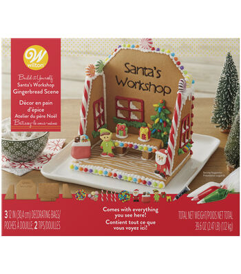 Wilton Gingerbread Kit-Santa Workshop