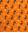 1930\u0027s Cotton Fabric 43\u0022-Poodle Bows Orange