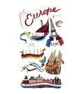 Jolee\u0027s Boutique Le Grande Dimensional Sticker-Europe