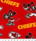 Kansas City Chiefs Fleece Fabric-Mickey