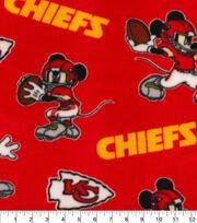 Kansas City Chiefs Fleece Fabric-Mickey, , hi-res