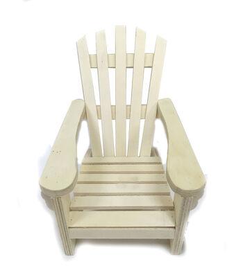 """Camp Ann Crafts 9""""x6"""" Wood Adirondacks Chair"""
