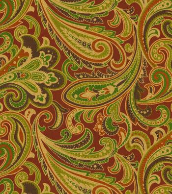 "Home Decor 8""x8"" Fabric Swatch-Solarium Casa Salsa"