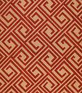 Home Decor 8\u0022x8\u0022 Fabric Swatch-Upholstery  Barrow M8390-5486 Pomegranate