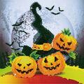 Diamond Dotz Diamond Embroidery Art Kit 12.5\u0027\u0027X12.5\u0027\u0027-Halloween Magic