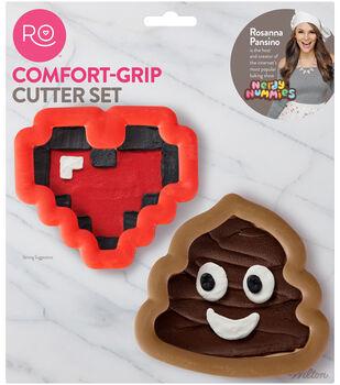 Wilton Rosanna Pansino Comfort-Grip Cookie Cutter Set