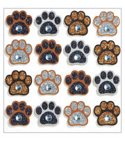 Jolee's Mini Repeats Stickers-Paw Print, , hi-res