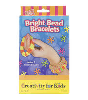 Creativity for Kids Bright Bead Bracelets Kit, , hi-res