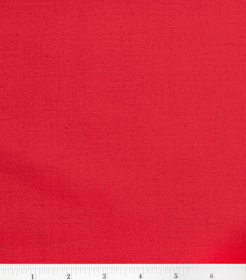 2 Yard Pre-Cut Symphony Broadcloth Fabric Remnant-Red