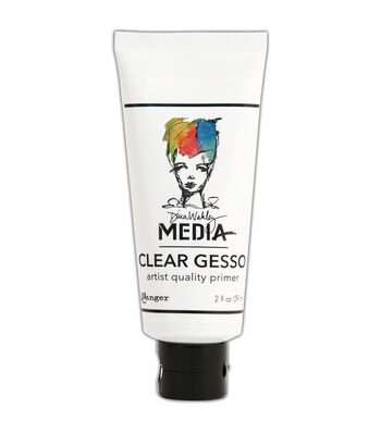 Ranger Dina Wakley Media 2 fl.oz Mediums Clear Gesso Tube