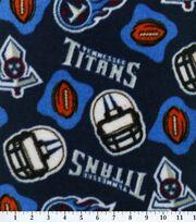 Tennessee Titans Fleece Fabric -Logo, , hi-res