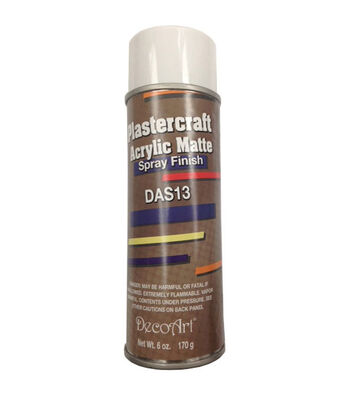 DecoArt Plastercraft 6 oz. Acrylic Matte Spray Finish