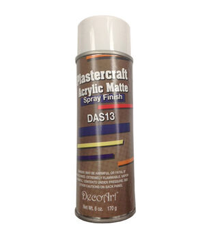 DecoArt Plastercraft 6 oz. Acrylic Matte Spray Finish