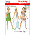 Simplicity Pattern 8126 Misses\u0027 Easy-to-Sew Dress-Size R5 (14-22)