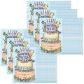 Creative Teaching Press Safari Friends Happy Birthday Award, 30 Per Pack
