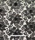 Gianna Sequin Embroidery on Mesh Fabric 56\u0022