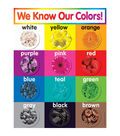 Scholastic Colors Chart 6pk