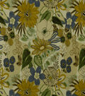 Home Decor 8\u0022x8\u0022 Fabric Swatch-Print Fabric Robert Allen Lilith Sunblue