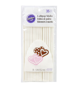"Wilton Lollipop Sticks 6"""