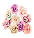 Prima Marketing Moon Child 9 pk Mulberry Paper Flowers-Crescent Moon