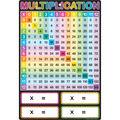 Smart Poly Chart 13\u0022x19\u0022 Multiplication 10pk