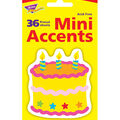 Birthday Cake Mini Accents, 36 Per Pack, 12 Packs