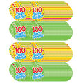Teacher Created Resources 100 Days Smarter Wear \u0027Em Badges, 32/Pack