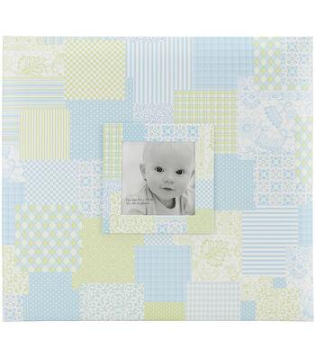 MBI 12''x12'' Baby Post Bound Album With Window-Blue