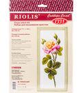 RIOLIS 7.75\u0027\u0027x19.75\u0027\u0027 Counted Cross Stitch Kit-Wonderful Rose