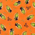 Halloween Cotton Fabric-Grinch Night
