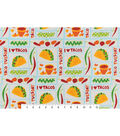 Snuggle Flannel Fabric -Taco Tuesday