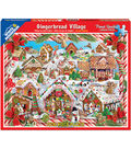White Mountain Puzzles 24\u0027\u0027x30\u0027\u0027 Jigsaw Puzzle-Gingerbread Houses