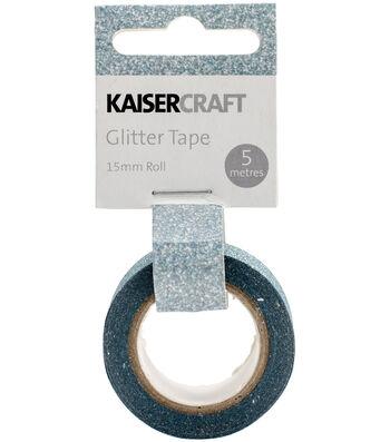 Kaisercraft 0.5''x16.5' Glitter Tape-Ice Blue
