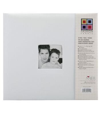 12''x12'' Fabric Postbound Album