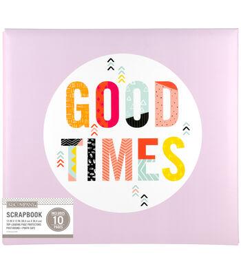 K&Company 12''x12'' Scrapbook-Good Times