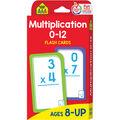 Flash Cards-Multiplication 0-12 55/Pkg