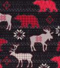 Super Fleece Fabric 58\u0027\u0027-Aspen Animals